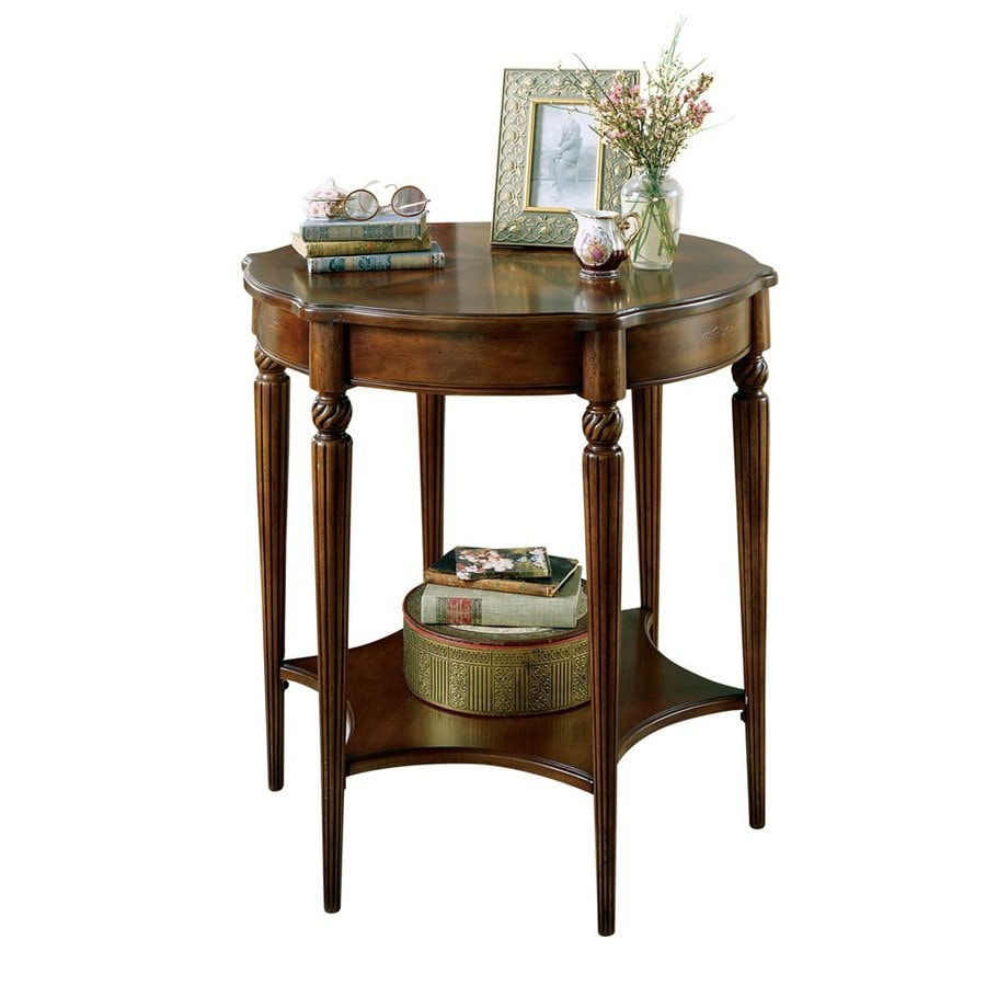 Butler Specialty Masterpiece Plantation Cherry Round End Table