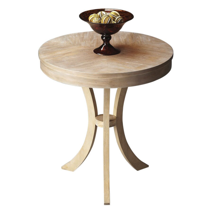Butler Specialty Butler Loft Driftwood Cherry Round End Table