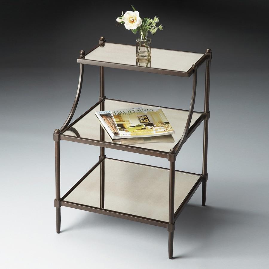 Butler Specialty Metalworks Light Bronze Metal Rectangular End Table
