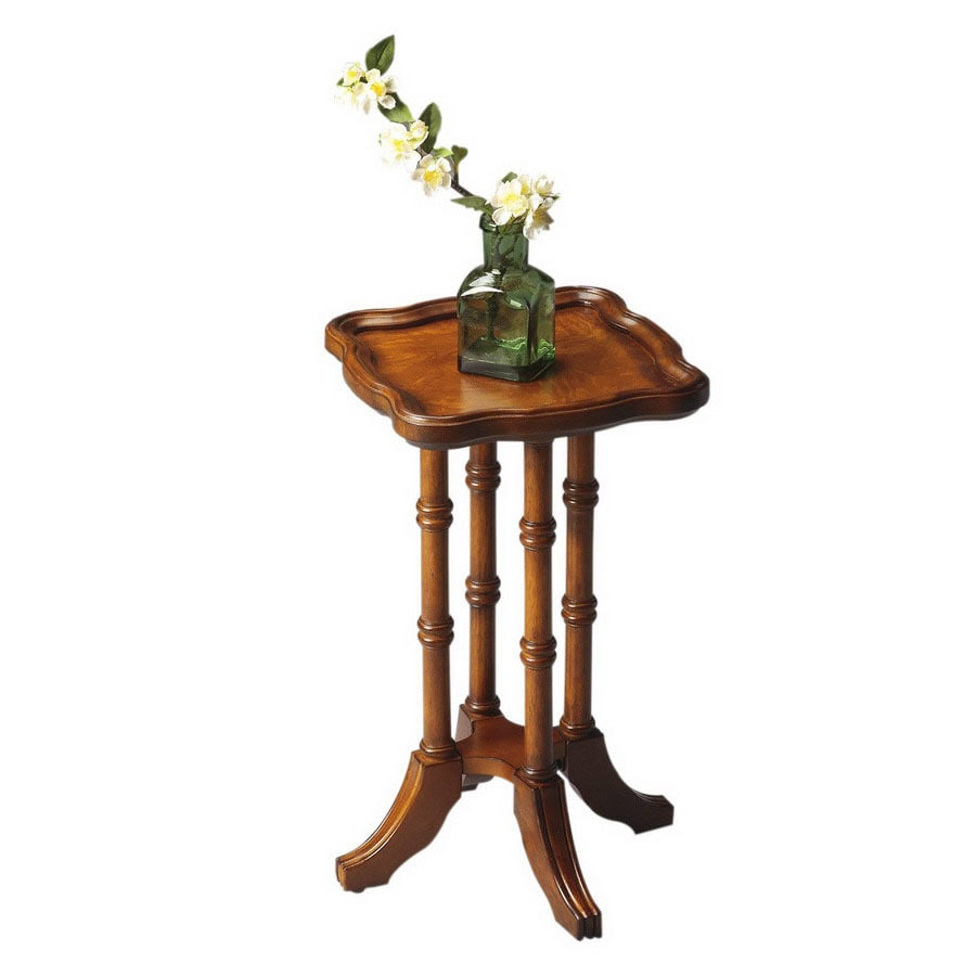 Butler Specialty Masterpiece Olive Ash Burl Square End Table