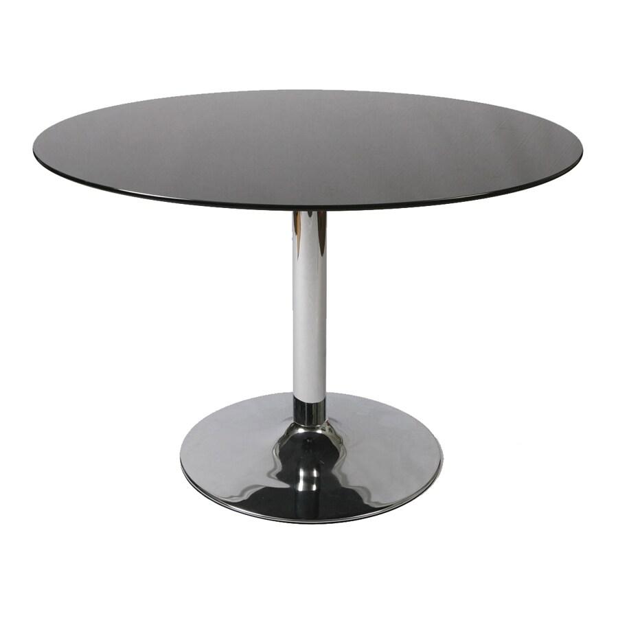Pastel Furniture Sundance Chrome Round Dining Table