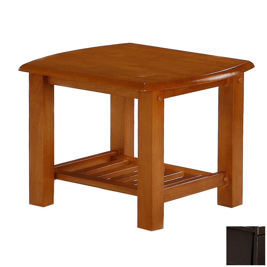 Night & Day Furniture Standard Dark Chocolate Square End Table