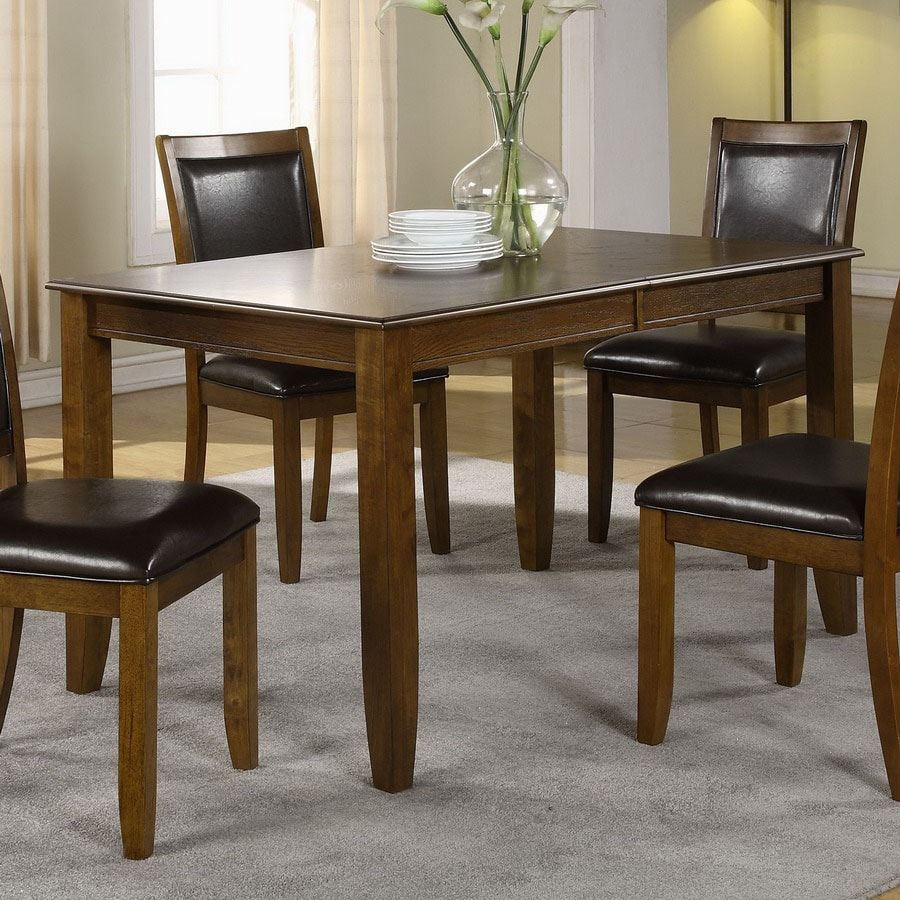 Monarch Specialties Dark Walnut Rectangular Dining Table