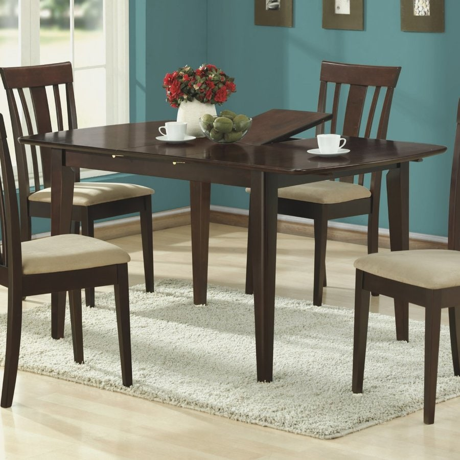 Monarch Specialties Cappuccino Rectangular Dining Table