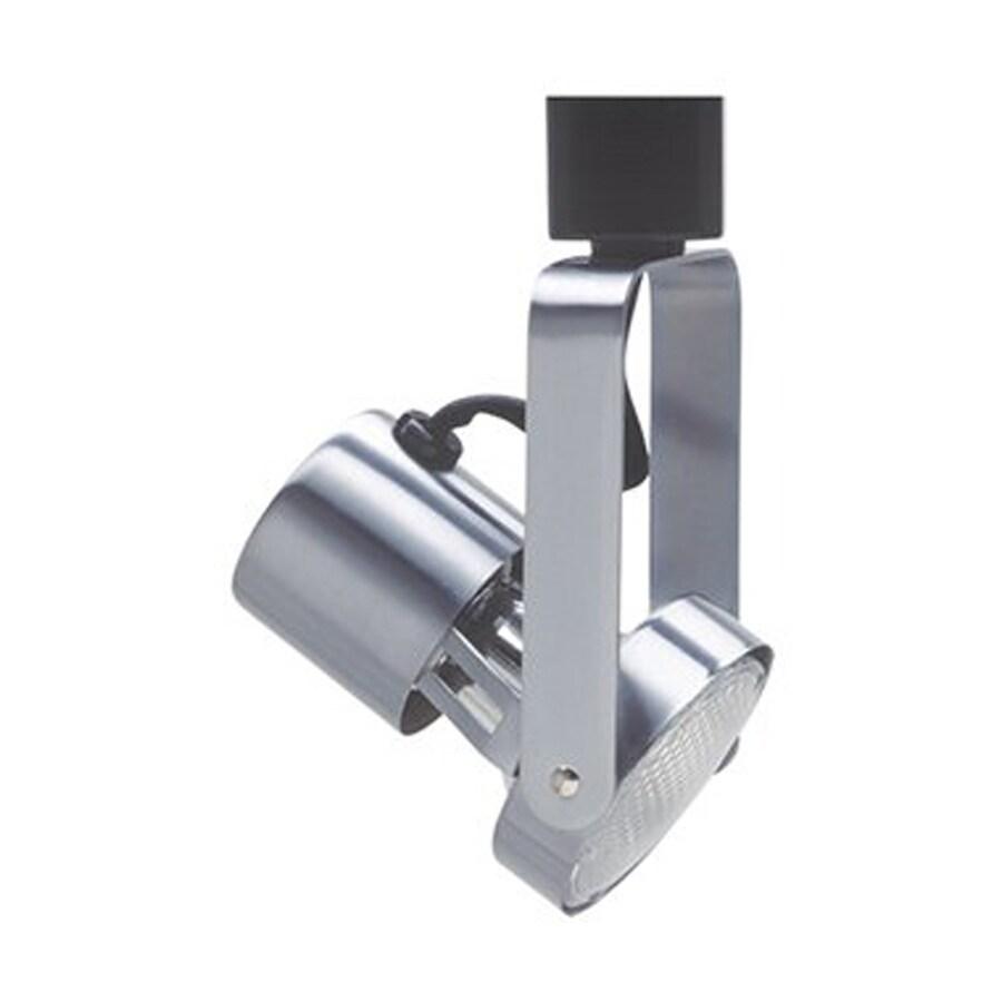 Cal Lighting 1-Light Brushed Steel Gimbal Linear Track Lighting Head