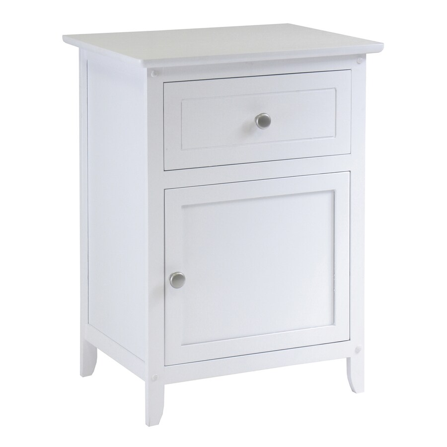 Shop Winsome Wood White Nightstand At Lowescom