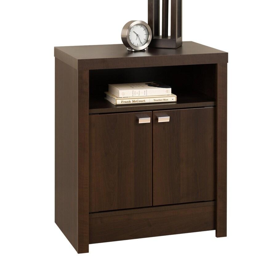 Prepac Furniture Series 9 Espresso Composite Nightstand