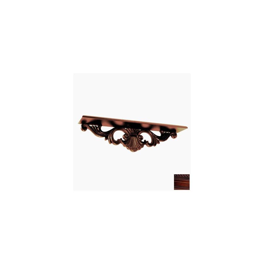 Wayborn Furniture 24-in Wood Wall Mounted Shelving