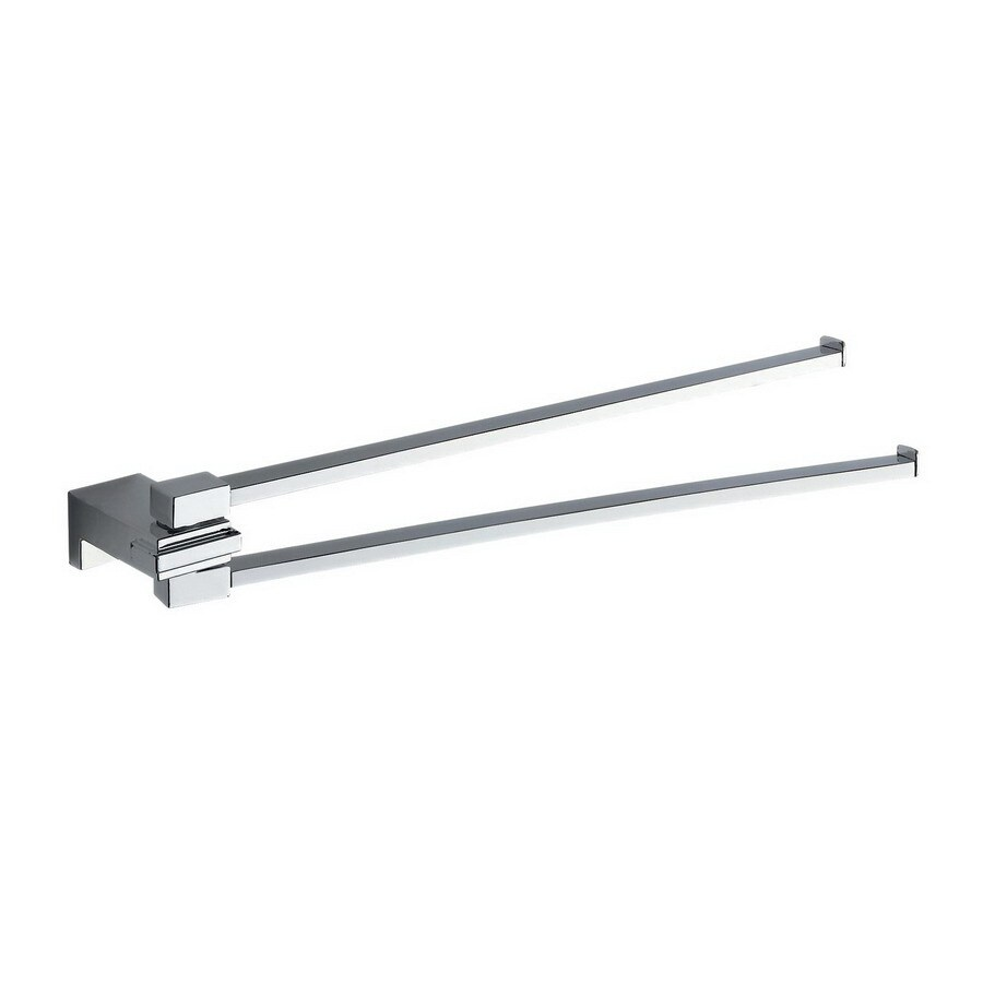 Nameeks Kansas Chrome Double Towel Bar (Common: 15-in; Actual: 15.83-in)