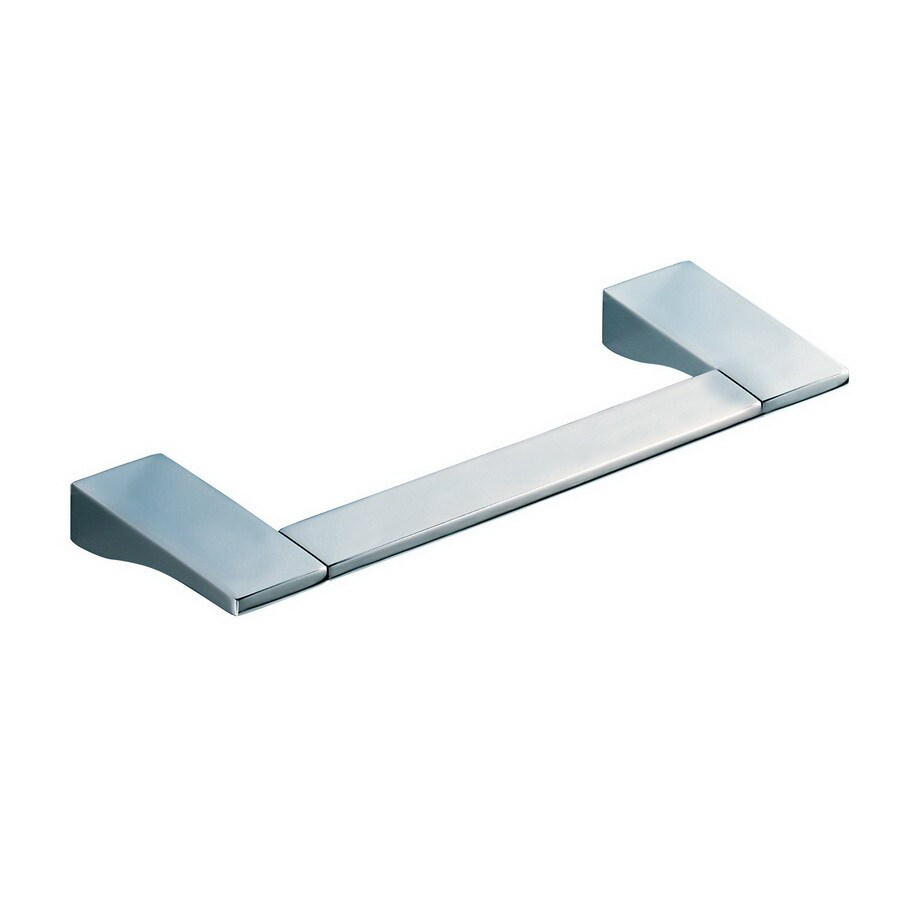Nameeks Glamour Chrome Single Towel Bar (Common: 12-in; Actual: 11.81-in)