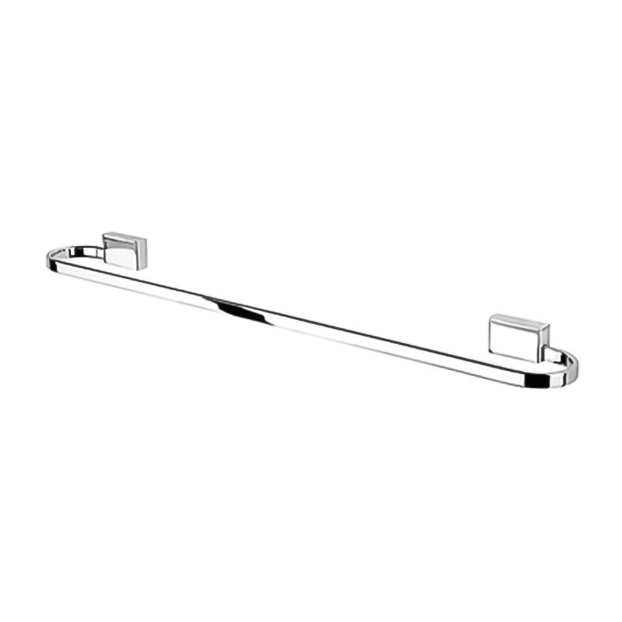 Nameeks Bloq Chrome Single Towel Bar (Common: 23-in; Actual: 23.4-in)
