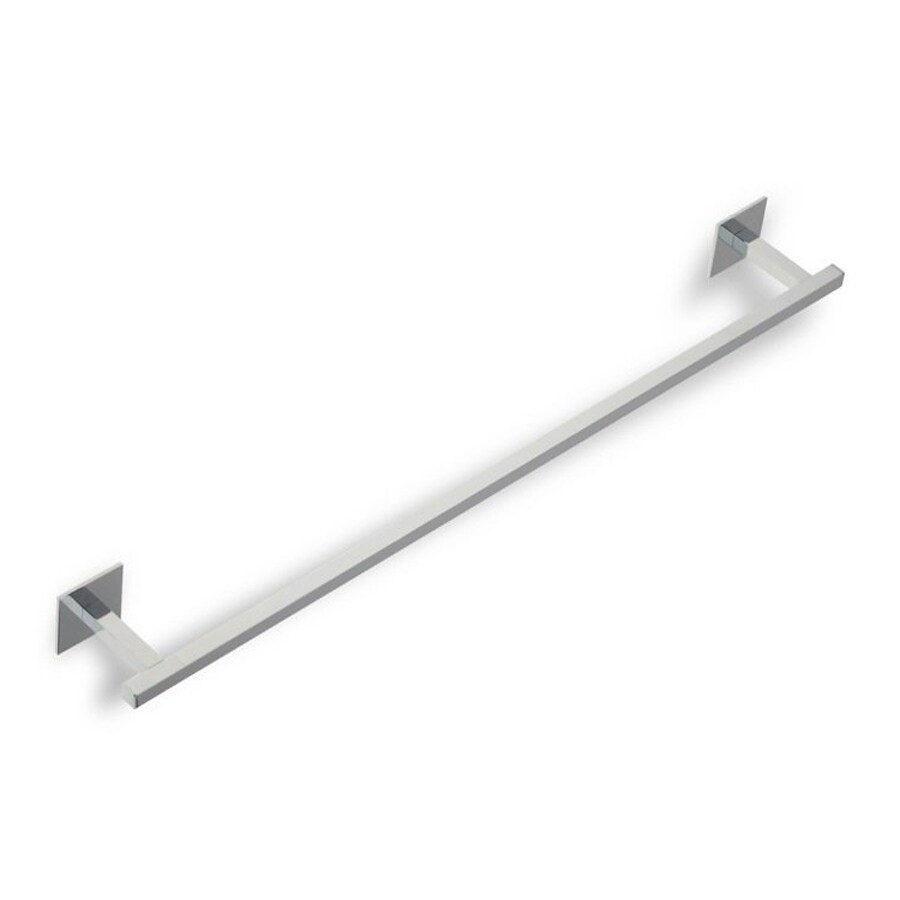 Nameeks Urania Chrome Single Towel Bar (Common: 24-in; Actual: 23.8-in)