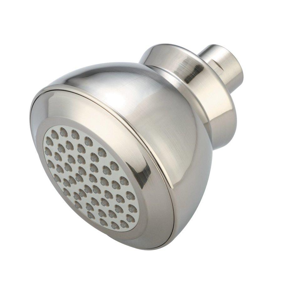 Pioneer Industries P-Accessory 1.5-GPM (5.7-LPM) Brushed Nickel Showerhead
