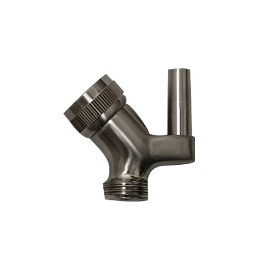 Whitehaus Collection Brushed Nickel Shower Arm