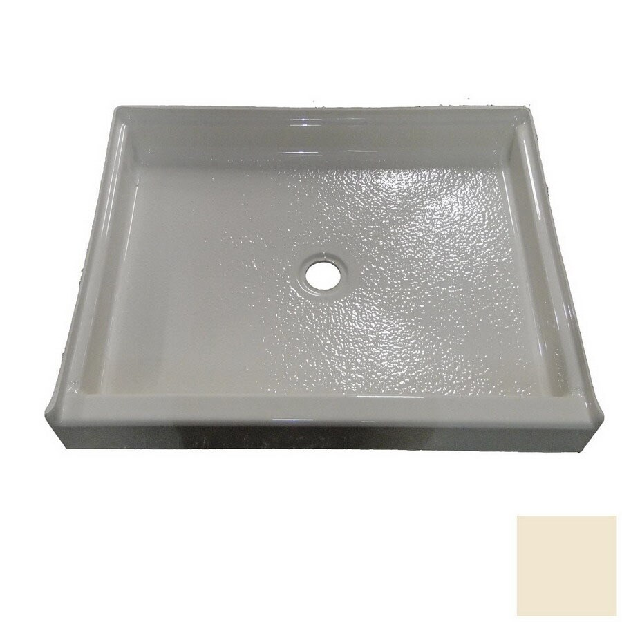 American Acrylic and Injection Bone Acrylic Shower Base (Common: 36-in W x 36-in L; Actual: 36-in W x 36-in L)