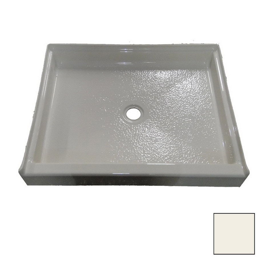 American Acrylic and Injection Biscuit Acrylic Shower Base (Common: 48-in W x 32-in L; Actual: 48-in W x 32-in L)