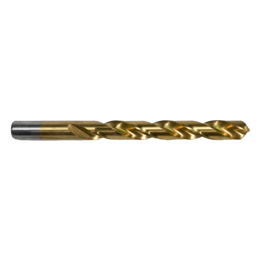 Morris Products 3/16-in Titanium Twist Drill Bit