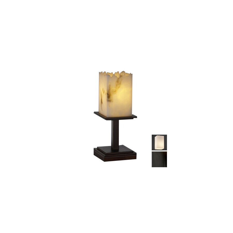 Cascadia Lighting 3-Way Switch Matte Black Touch Indoor Table Lamp with Shade