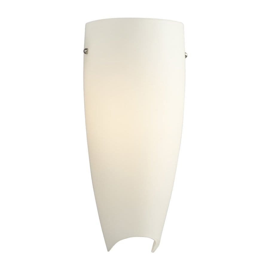Galaxy 5.75-in W 1-Light Brushed Nickel Pocket Hardwired Wall Sconce