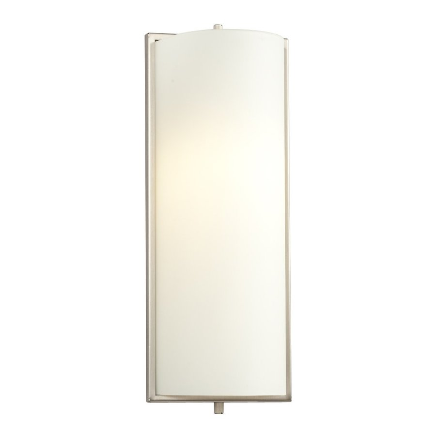 Galaxy 5-in W 1-Light Brushed Nickel Pocket Hardwired Wall Sconce