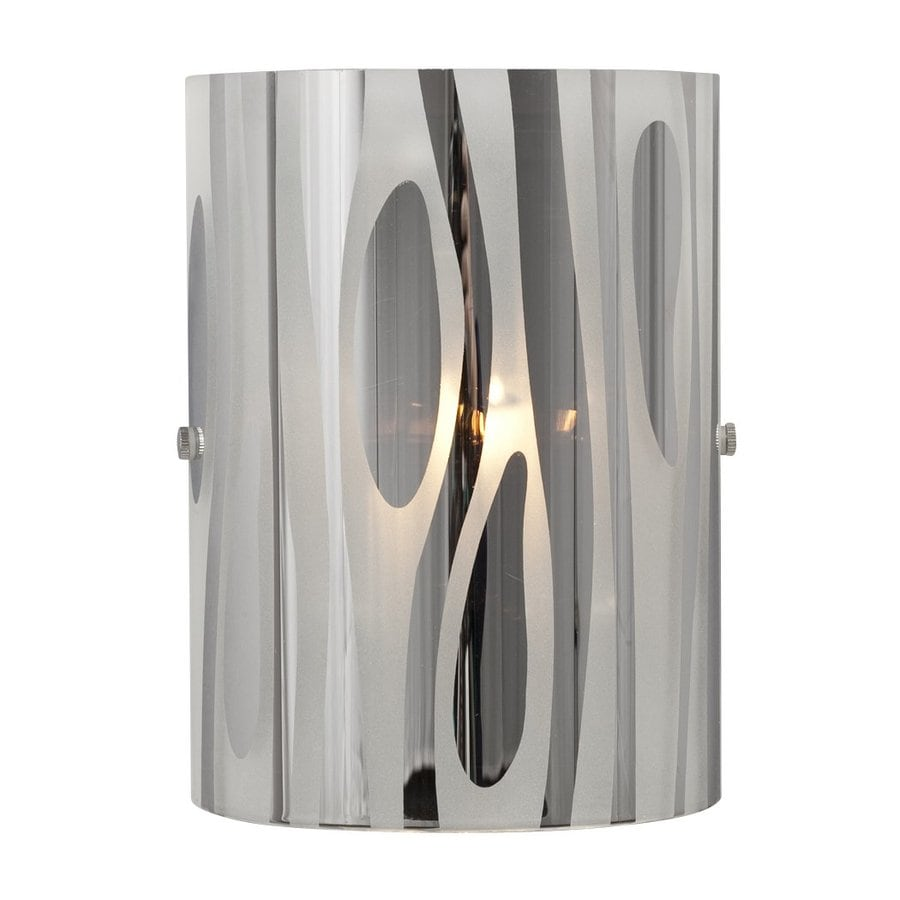 Galaxy Lustre 6-in W 1-Light Chrome Pocket Hardwired Wall Sconce