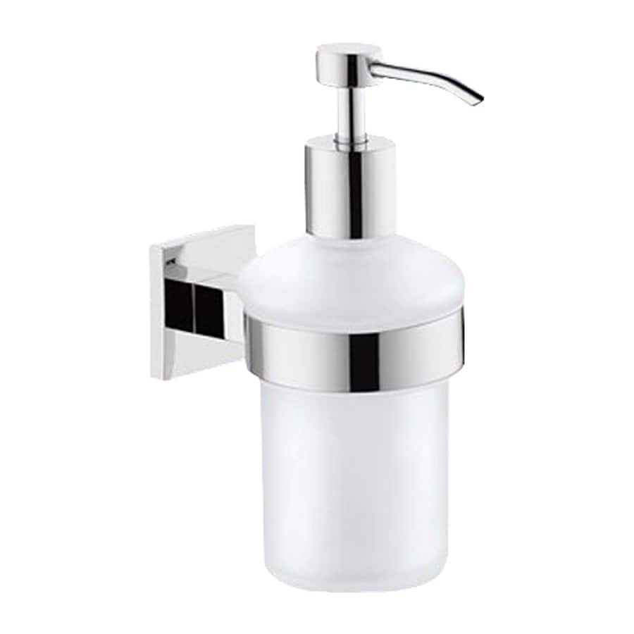 Nameeks New Jersey Chrome Soap and Lotion Dispenser