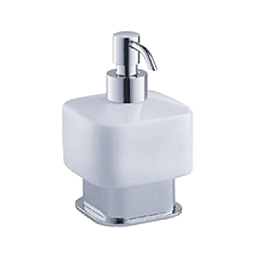 Fresca Solido Triple Chrome Soap and Lotion Dispenser