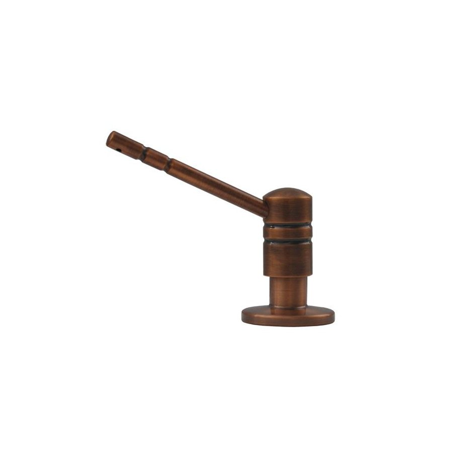 Whitehaus Collection Discovery Antique Copper Soap and Lotion Dispenser