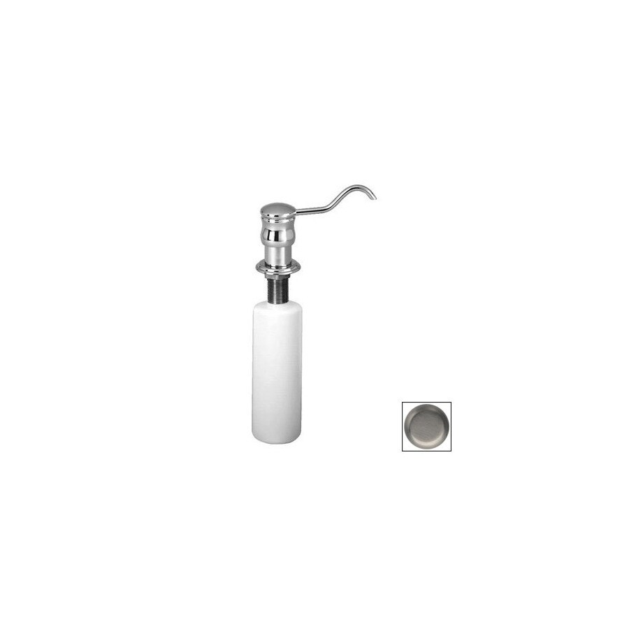 Westbrass Soap Dispensers Satin Nickel (Brushed Nickel) Soap and Lotion Dispenser