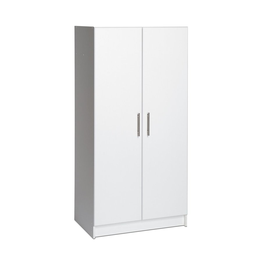 Shop Prepac Furniture Elite Home Storage White Armoire At