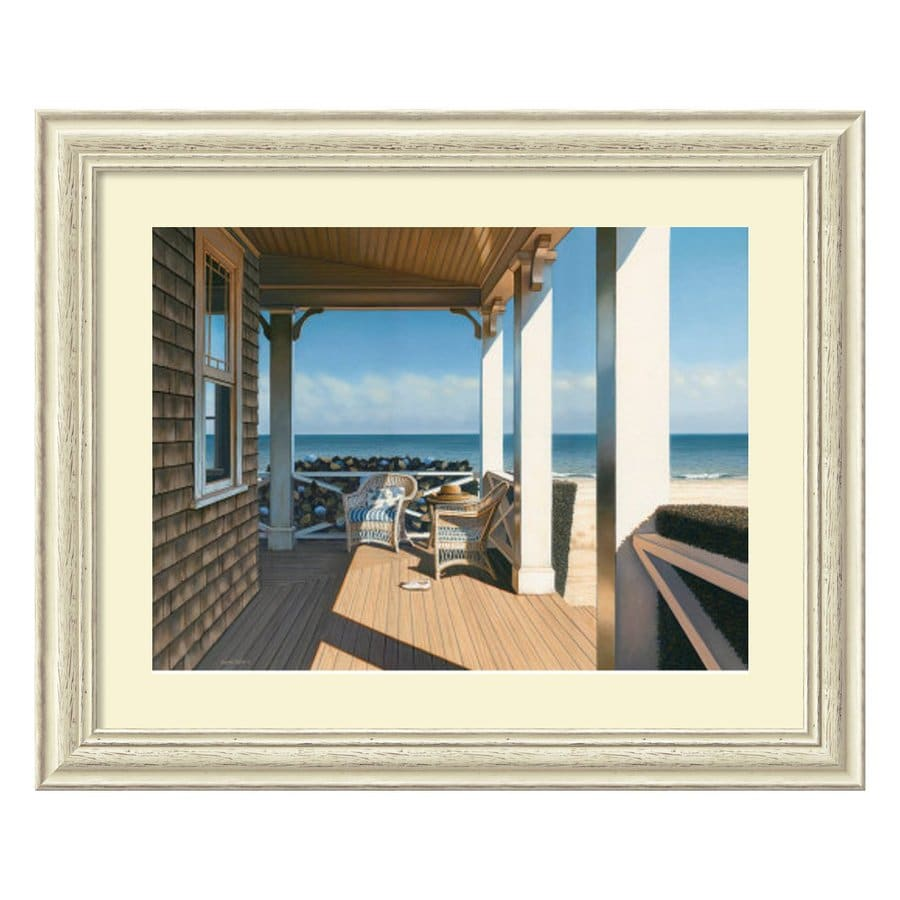 Amanti Art 33.38-in W x 27.38-in H Framed Paper Photography Prints Wall Art