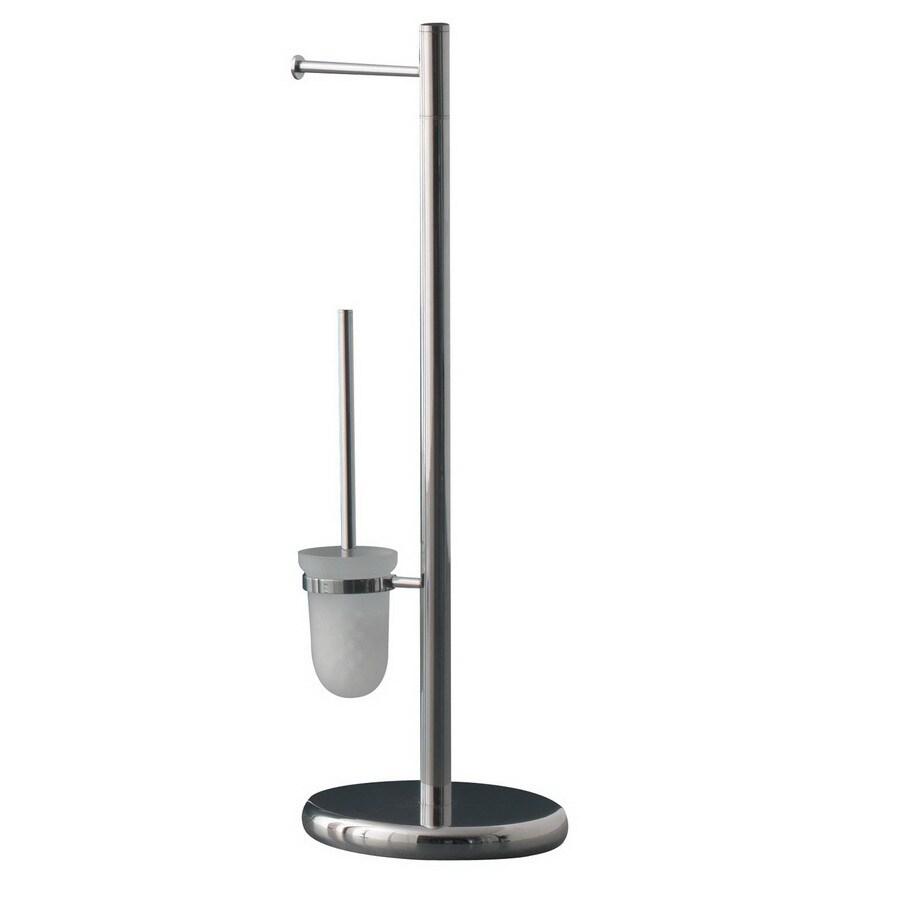 Nameeks Gedy Chrome Toilet Brush Holder