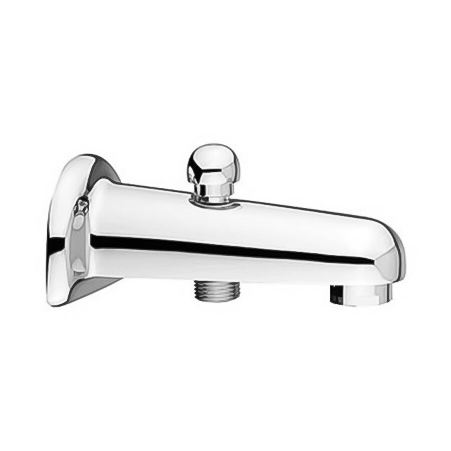 Shop Nameeks Fima Carlo Frattini Shower Chrome Fixed Wall Mount Bathtub Faucet With Diverter At