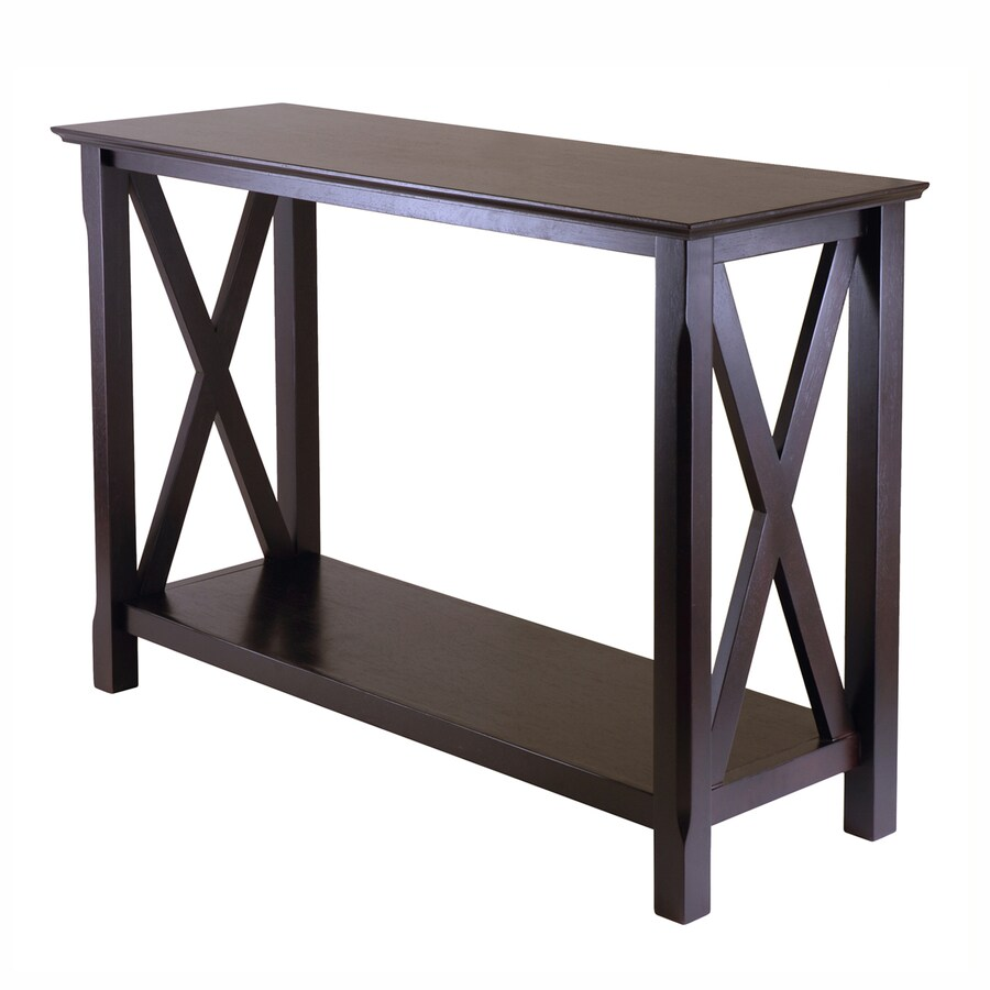 Winsome Wood Xola Cappuccino Rectangular Console and Sofa Table