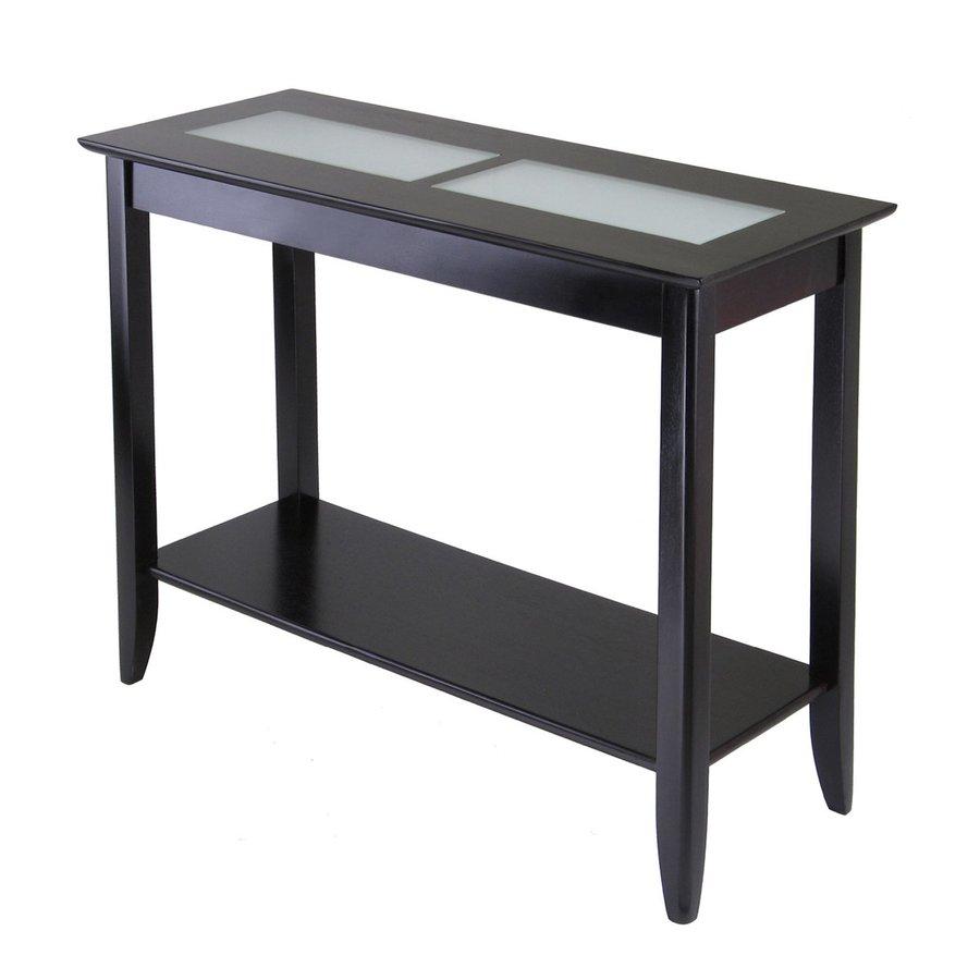 Shop winsome wood syrah dark espresso composite for Dark wood hall table