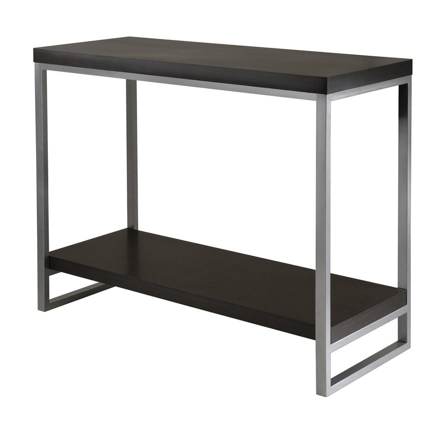 Winsome Wood Jared Espresso Rectangular Console and Sofa Table