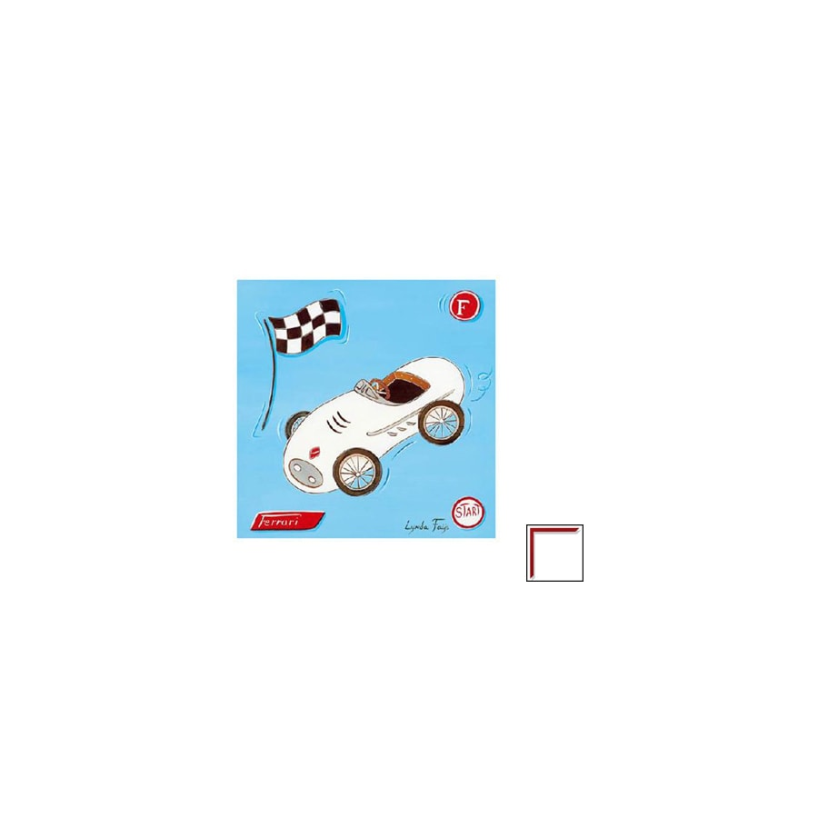 Art 4 Kids 12-in W x 12-in H Automotive Framed Art