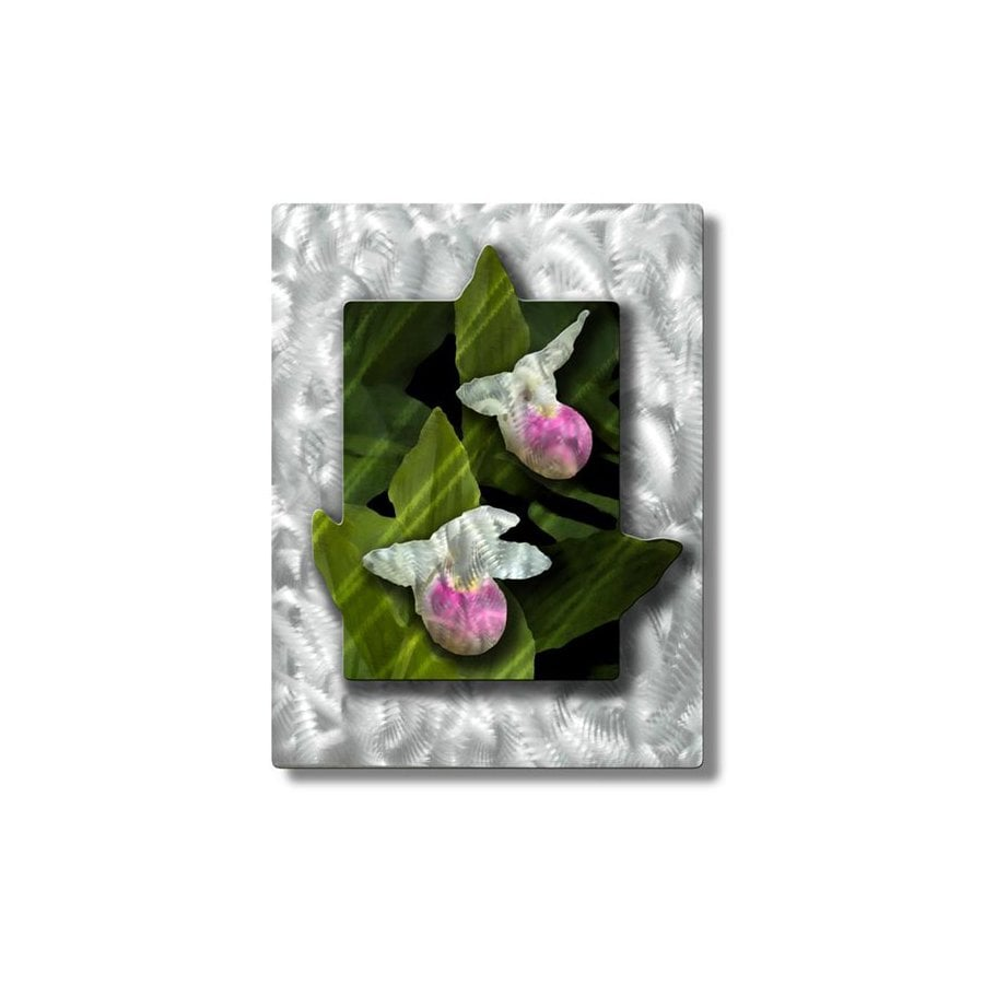 shop all my walls 26 5 in w x 35 in h botanical metal wall