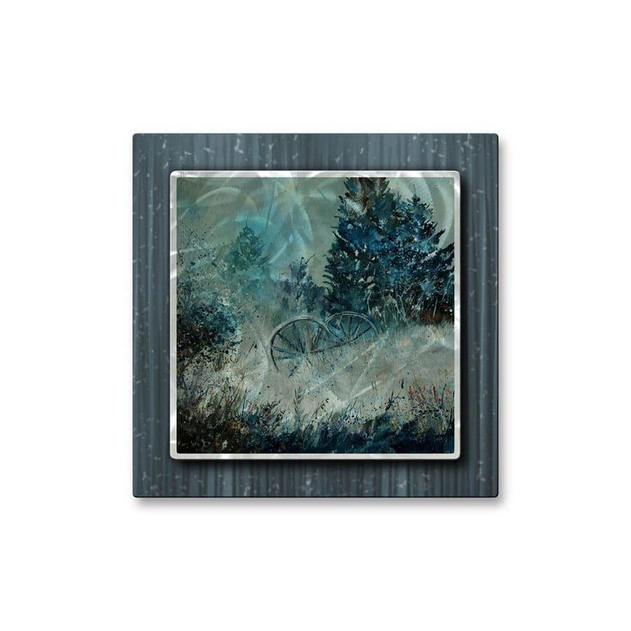 shop all my walls 30 in w x 29 5 in h botanical metal wall