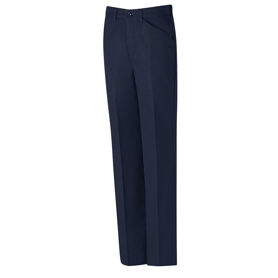 Red Kap Men's 28 x 32 Navy Twill Work Pants