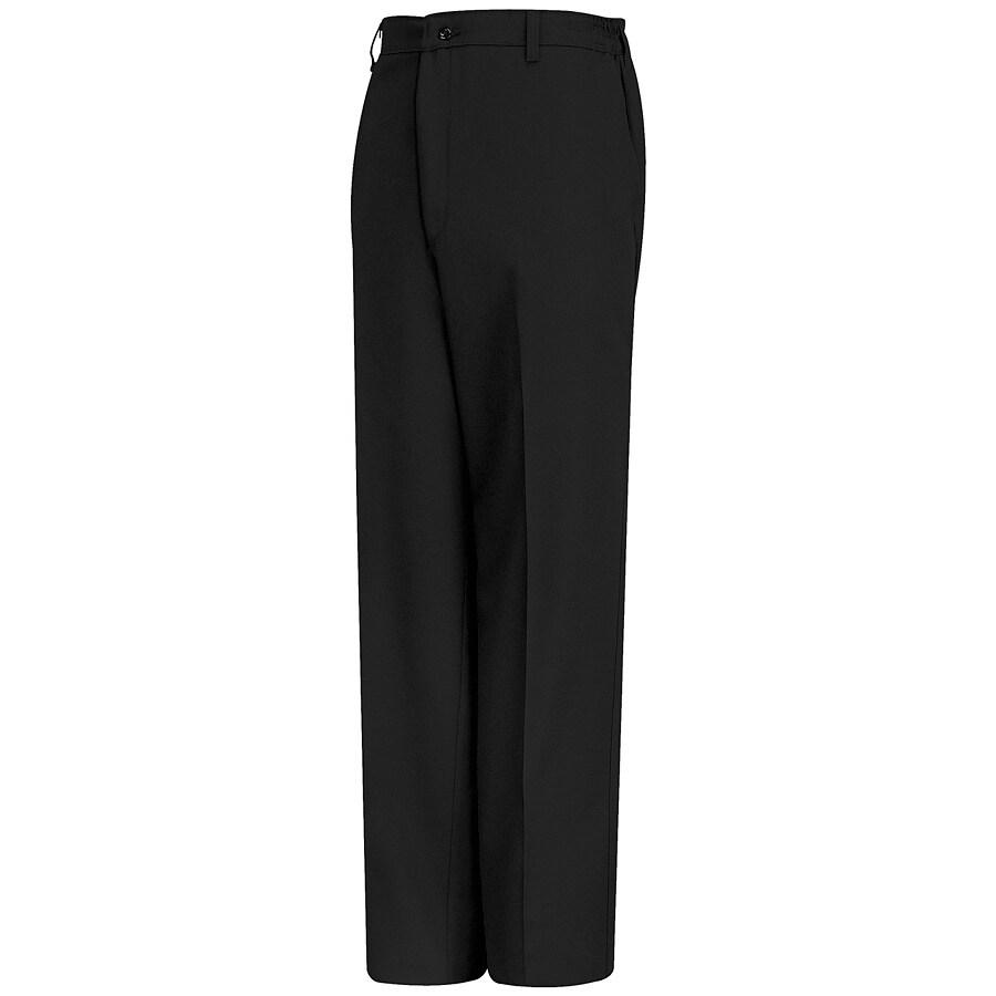 Red Kap Men's 42 x 32 Black Twill Work Pants