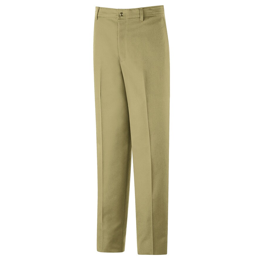 Red Kap Men's 50 x 30 Khaki Twill Work Pants