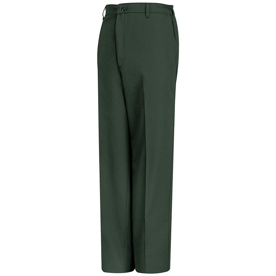 Red Kap Men's 38 x 30 Spruce Green Twill Work Pants