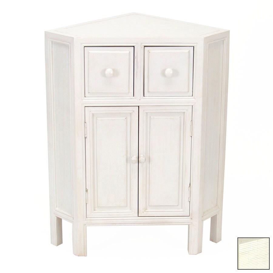 Wayborn Furniture Suchow Whitewash Office Cabinet