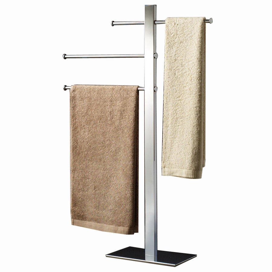 Shop Nameeks Gedy Bridge Chrome Brass Towel Rack At