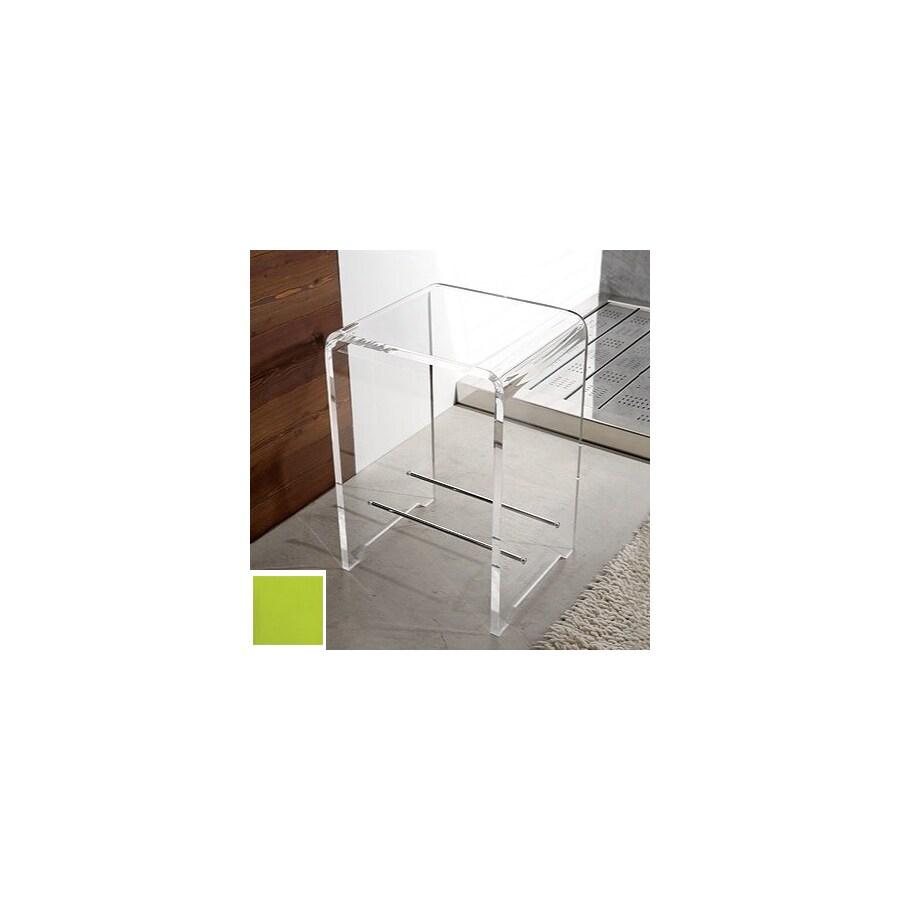 Nameeks Green Plastic Freestanding Shower Chair