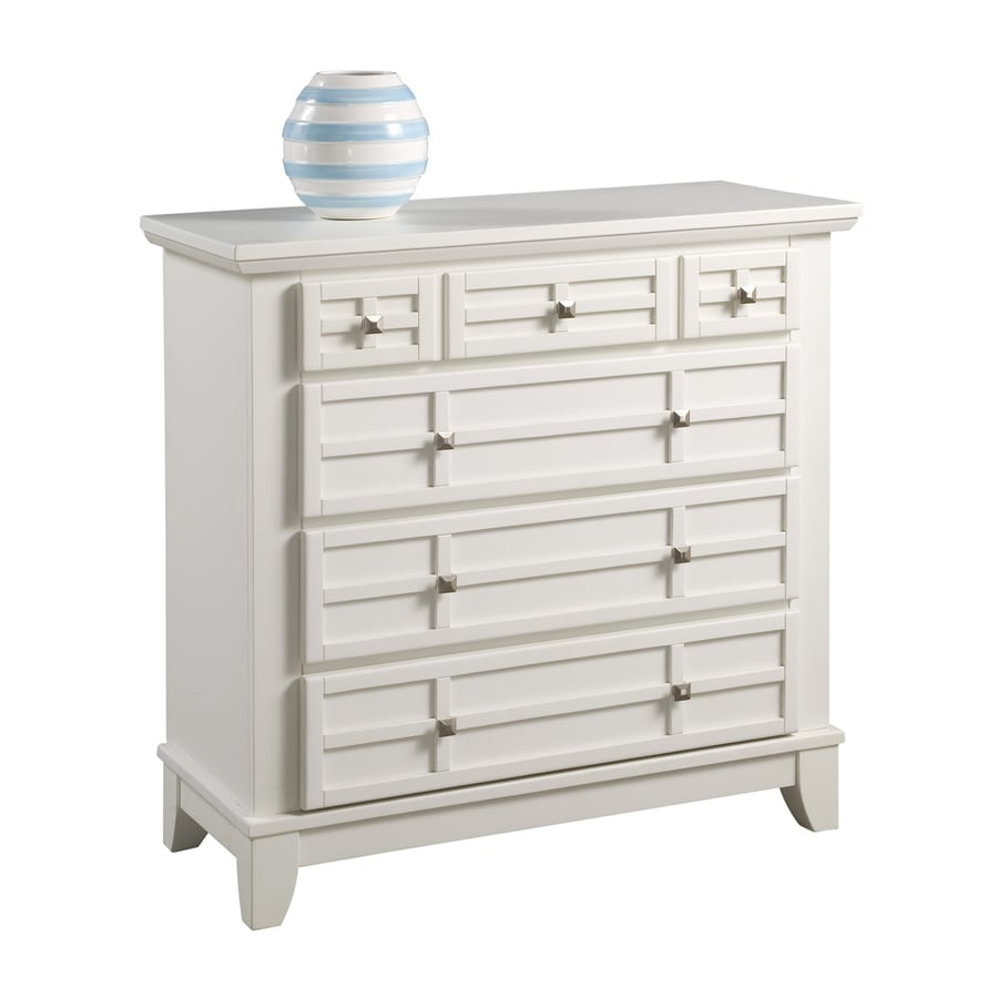 Home Styles Arts and Crafts White Standard Chest