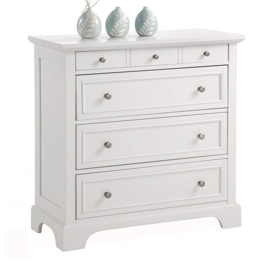 Shop Home Styles Naples White Standard Chest At