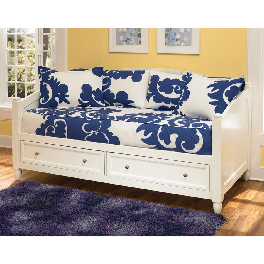 Shop Home Styles Naples White Twin Daybed With Under Bed
