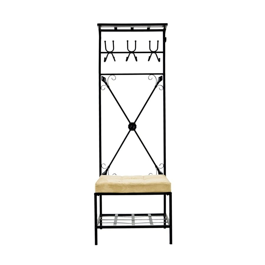 Boston Loft Furnishings Black 12-Hook Coat Stand